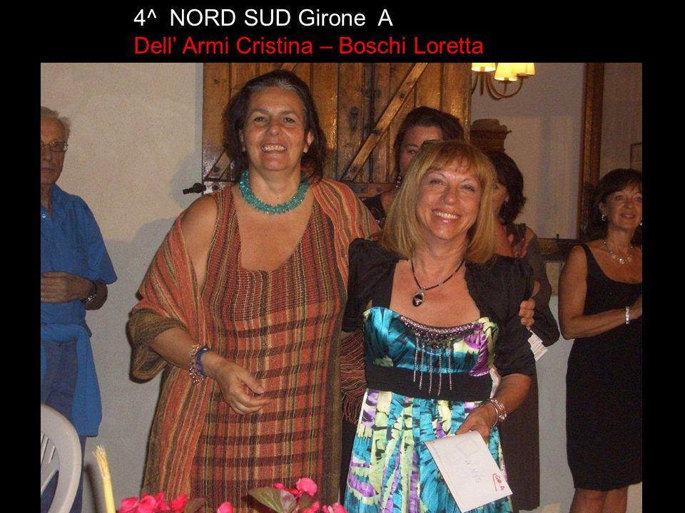 4^ EST OVEST Girone A Ambrosetti Giuliano e Di Girolamo Vincenzo