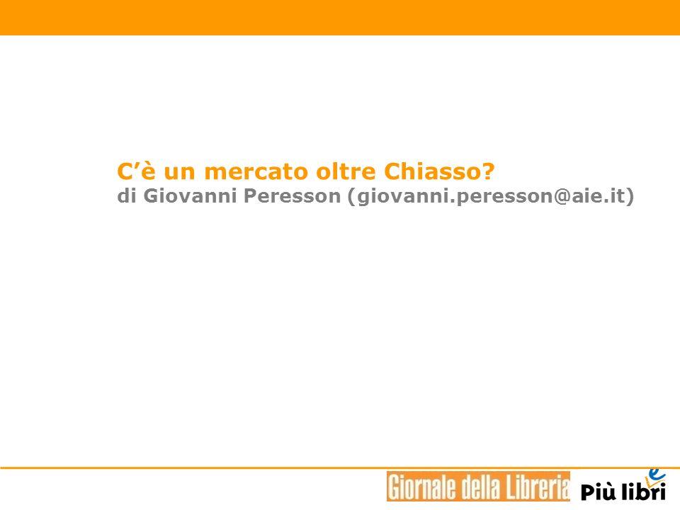 Cè un mercato oltre Chiasso? di Giovanni Peresson (giovanni.peresson@aie.it)