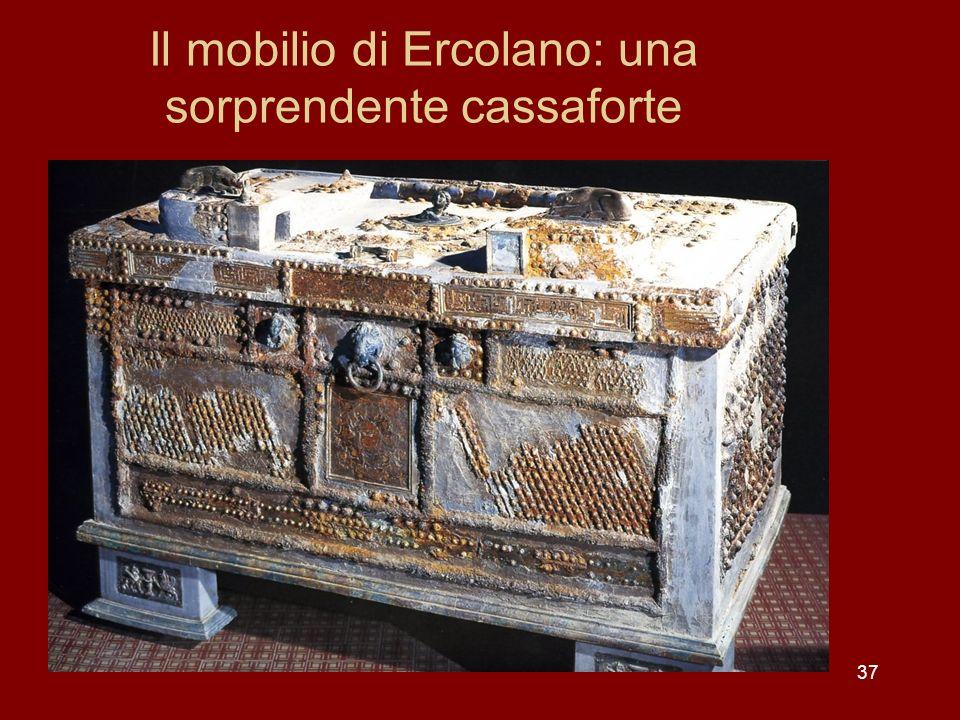 Il mobilio di Ercolano: una sorprendente cassaforte 37