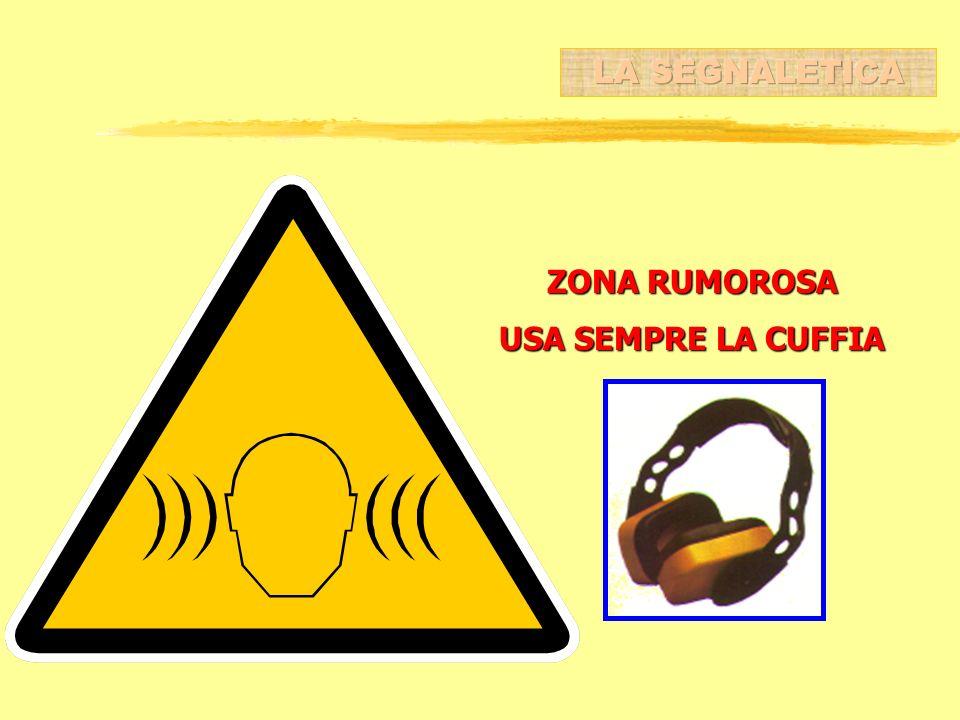 ZONA RUMOROSA USA SEMPRE LA CUFFIA