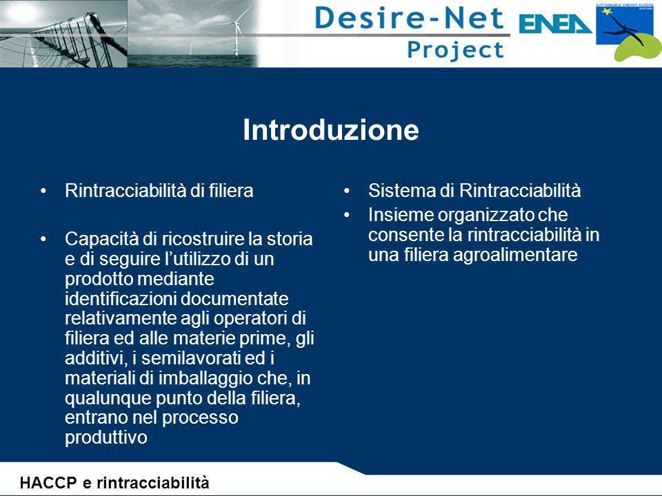 Il regime sanzionatorio (Rintracciabilità) D.Lgs.