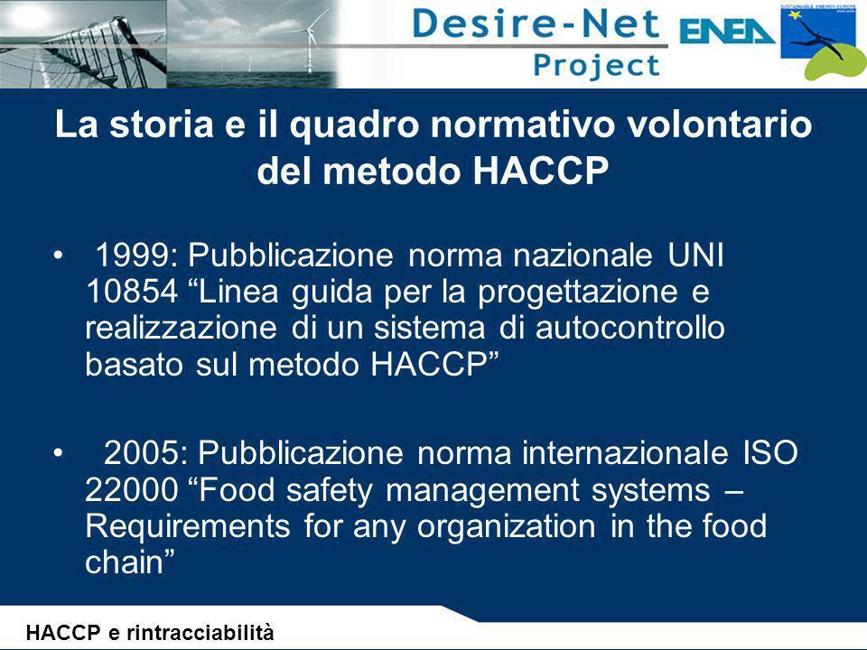 Lo sviluppo del metodo HACCP e del sistema di autocontrollo ALBERO DELLE DECISIONI PER LIDENTIFICAZIONE DEI PUNTI CRITICI (Principio n°2) 1.