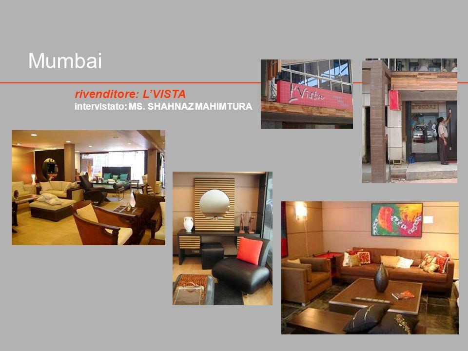 Mumbai rivenditore: LVISTA intervistato: MS. SHAHNAZ MAHIMTURA