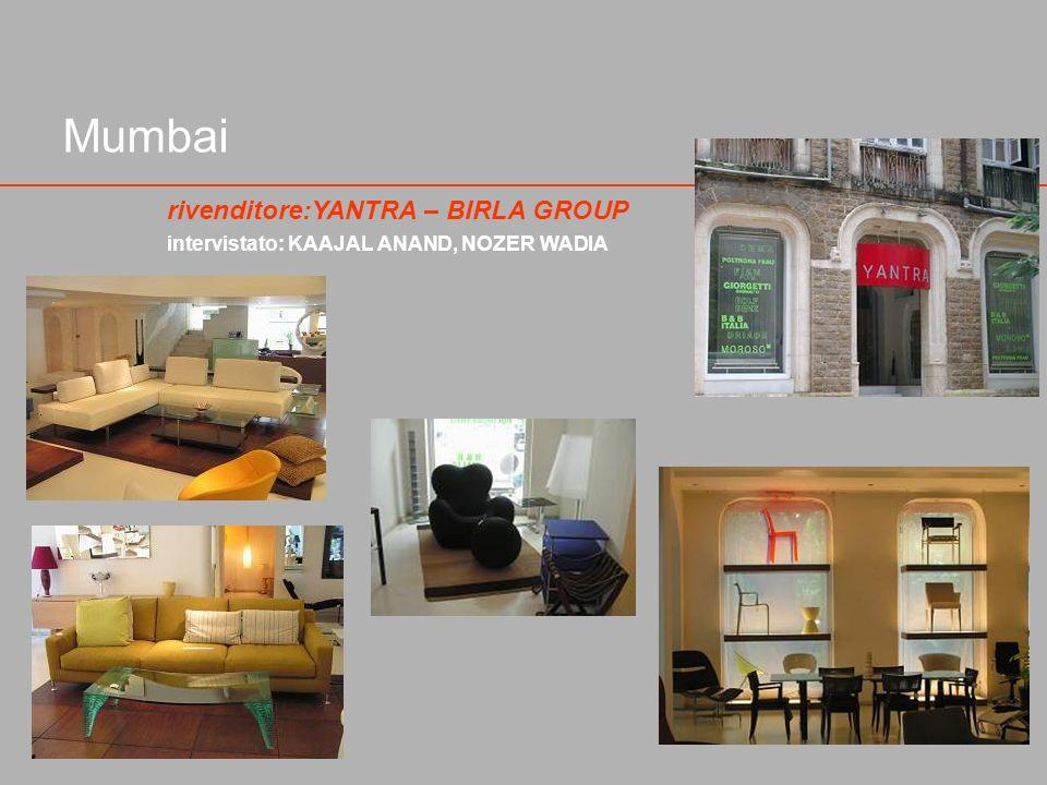 Mumbai rivenditore:YANTRA – BIRLA GROUP intervistato: KAAJAL ANAND, NOZER WADIA