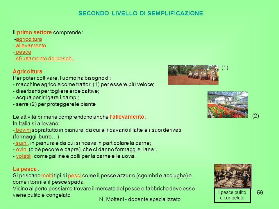 Il primo settore comprende : -agricoltura - allevamento - pesca - sfruttamento dei boschi, Agricoltura Per poter coltivare, luomo ha bisogno di: - mac