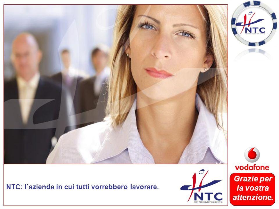 NTC: lazienda in cui tutti vorrebbero lavorare. Grazie per la vostra attenzione.