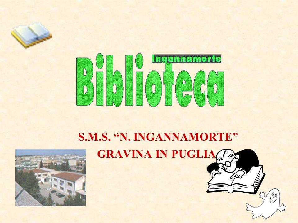 S.M.S. N. INGANNAMORTE GRAVINA IN PUGLIA