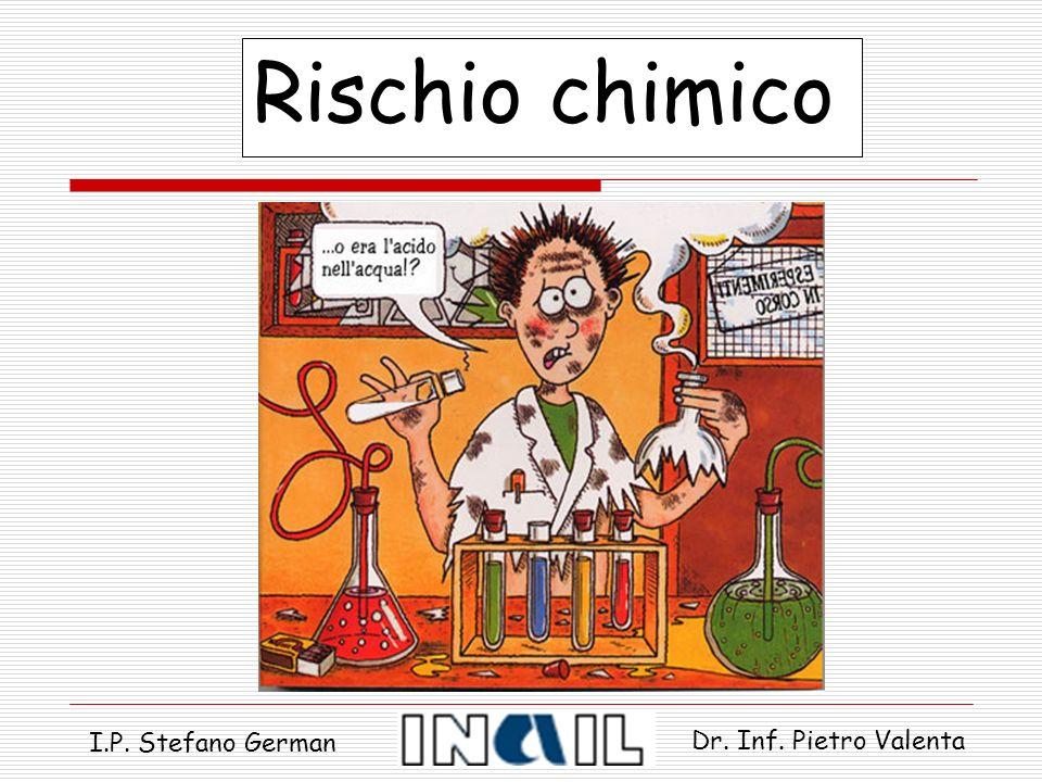 Rischio chimico I.P. Stefano German Dr. Inf. Pietro Valenta