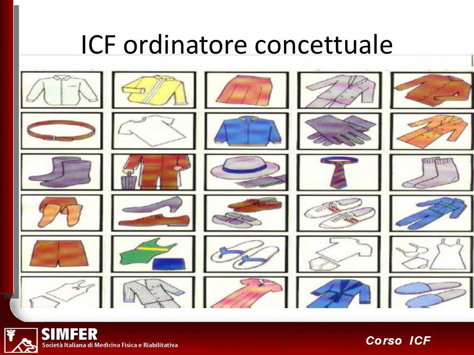 3 Corso ICF ICF ordinatore concettuale