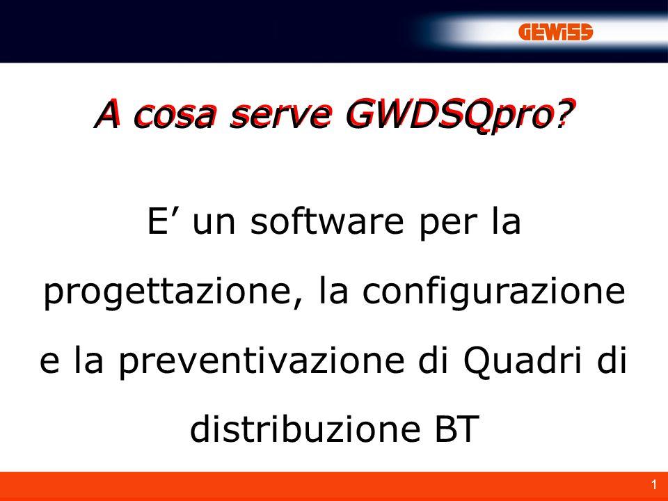 1 A cosa serve GWDSQpro.