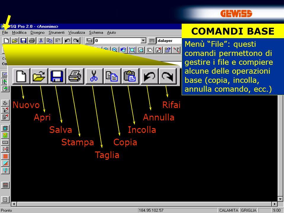 35 Per disegnare collegamenti elettrici è possibile utilizzare il comando Filo SCHEMA Filo