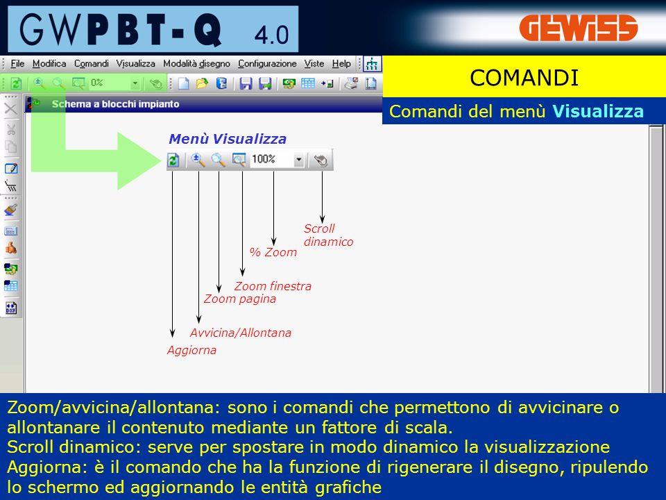 11 Zoom/avvicina/allontana: sono i comandi che permettono di avvicinare o allontanare il contenuto mediante un fattore di scala.