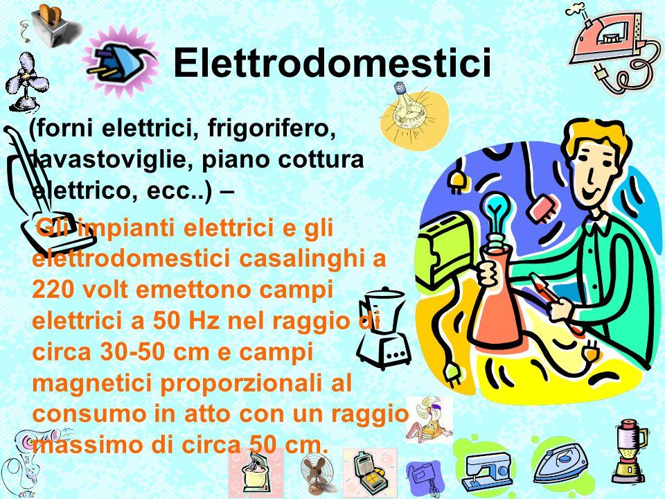 Elettrodomestici (forni elettrici, frigorifero, lavastoviglie, piano cottura elettrico, ecc..) – Gli impianti elettrici e gli elettrodomestici casalin