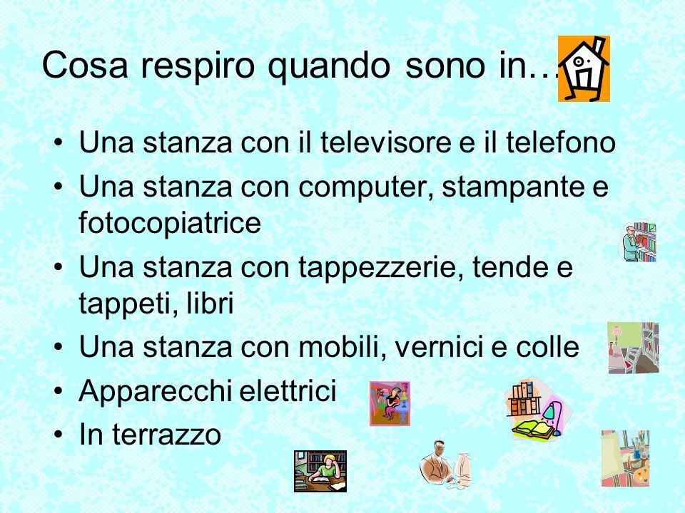 Una stanza con il televisore e il telefono Una stanza con computer, stampante e fotocopiatrice Una stanza con tappezzerie, tende e tappeti, libri Una