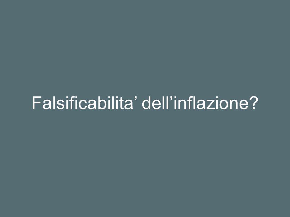 Falsificabilita dellinflazione?