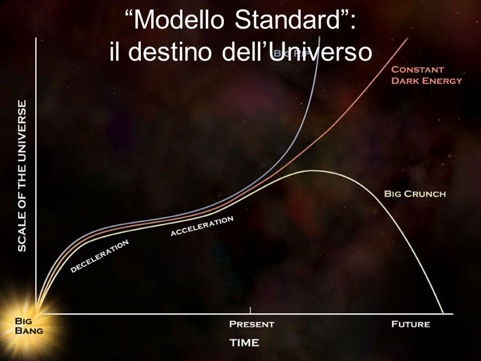 Modello Standard: il destino dellUniverso