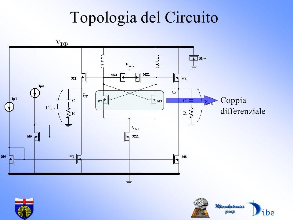 Topologia del Circuito Coppia differenziale