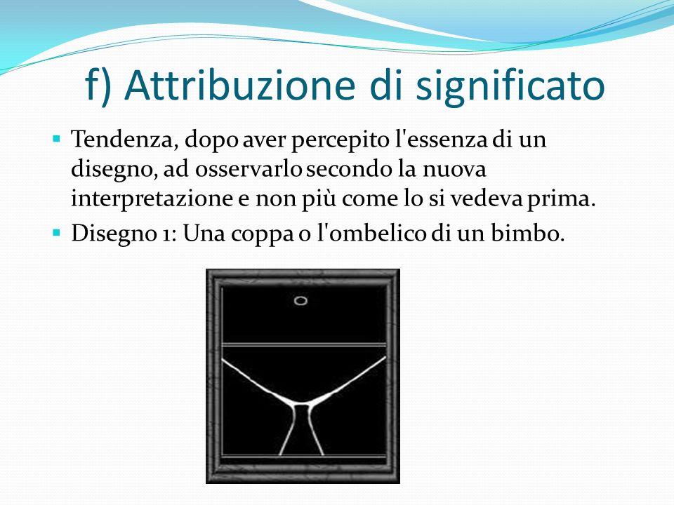 e) Regola della chiusura: Tendenza a vedere le forme come delineate da un margine continuo ed ignorare eventuali interruzioni di tale continuità. Nell