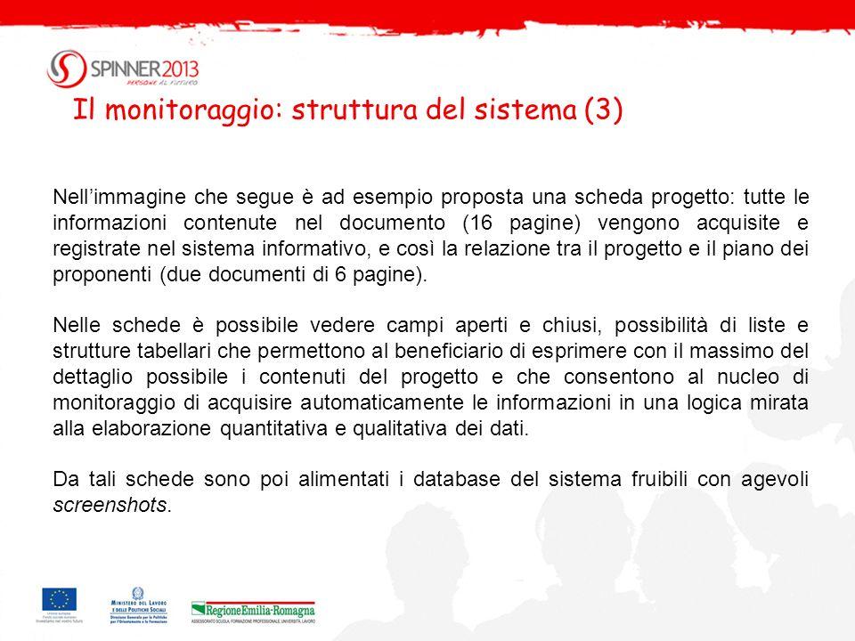 Un esempio documentazione per la candidatura dei progetti Un esempio documentazione per la candidatura dei progetti (2)
