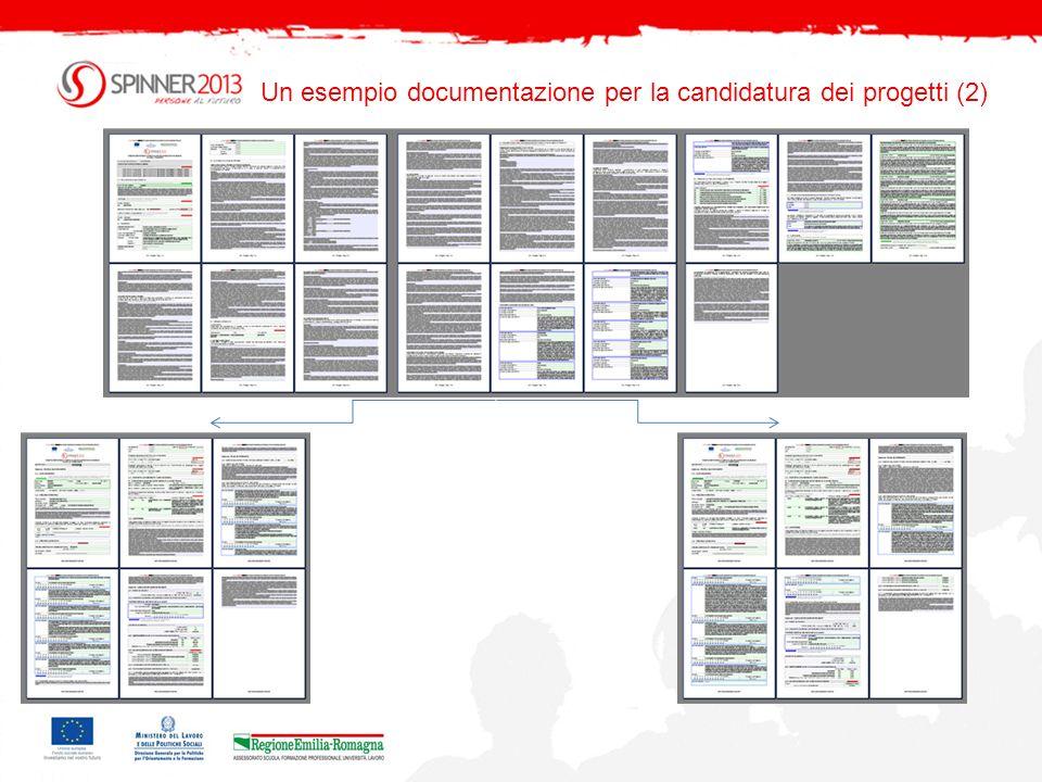 Un esempio: literfaccia (1) Nelle immagini alcuni screenshots dellinterfaccia del sistema informativo.