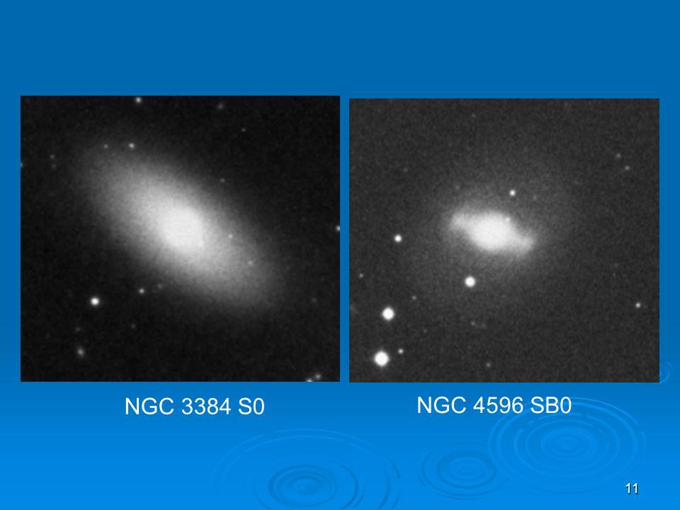 11 NGC 3384 S0 NGC 4596 SB0