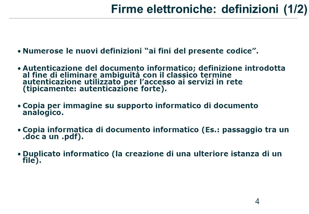 5 Documento analogico complementare al documento informatico.