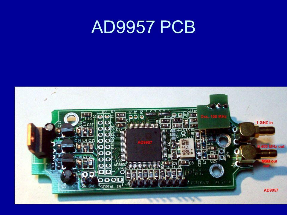 AD9957 PCB