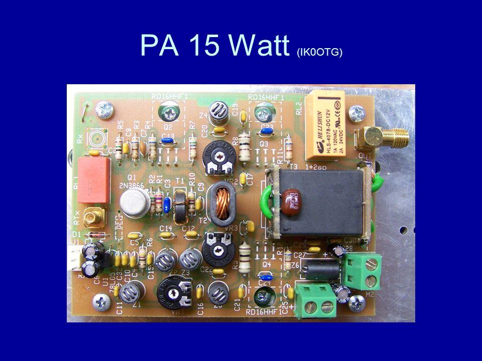PA 15 Watt (IK0OTG)