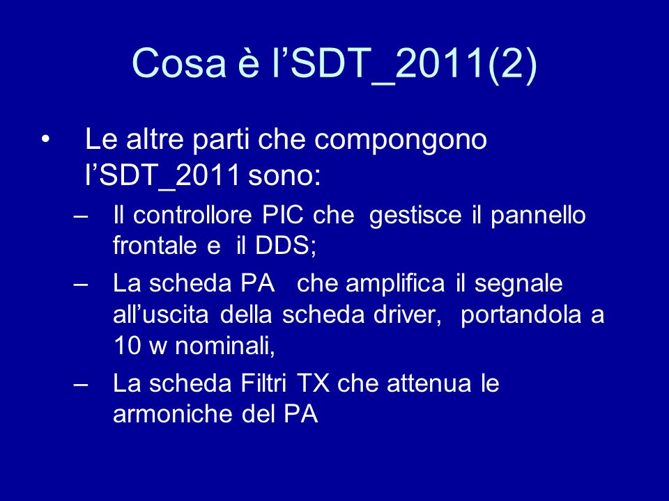 More Info: www.i0cg.com giulianori@virgilio.it