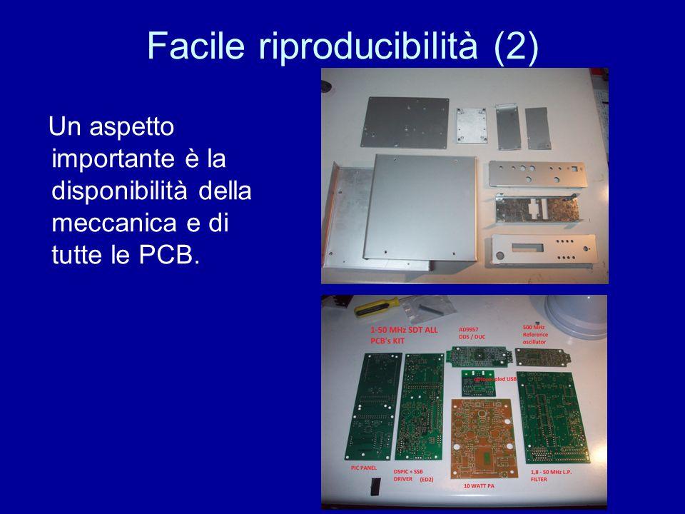 Facile riproducibilità (3) In primis si potrà, di base, auto-costruire lSDT partendo dalle PCB nude.