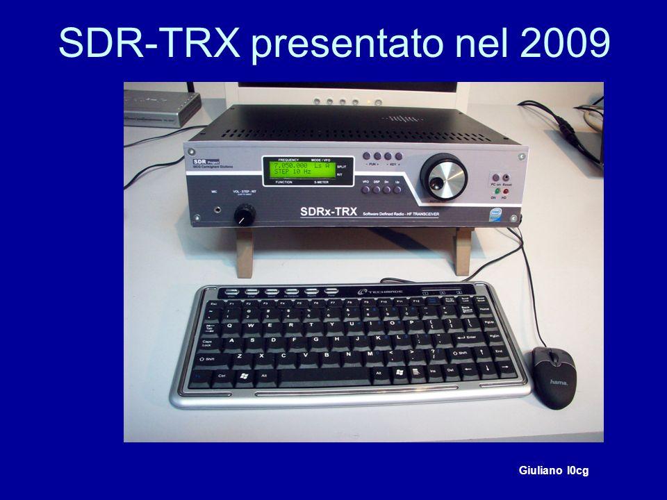 Esempio di funzionamento del RTX con RX Perseus In questo caso il DUC AD9957 verrà utilizzato solo in TX.