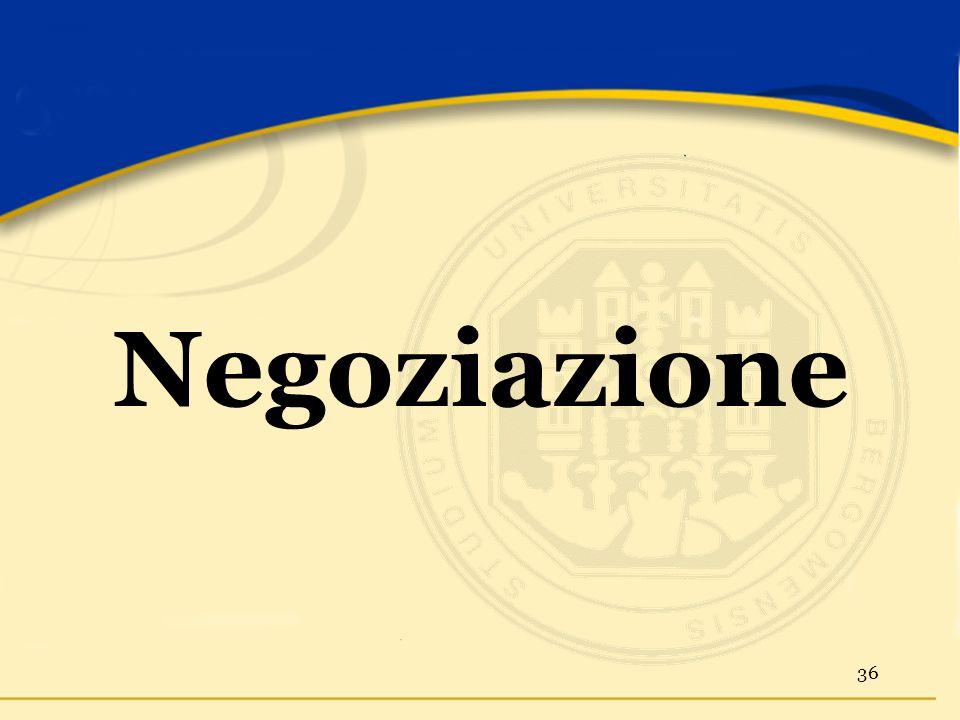 Negoziazione 36