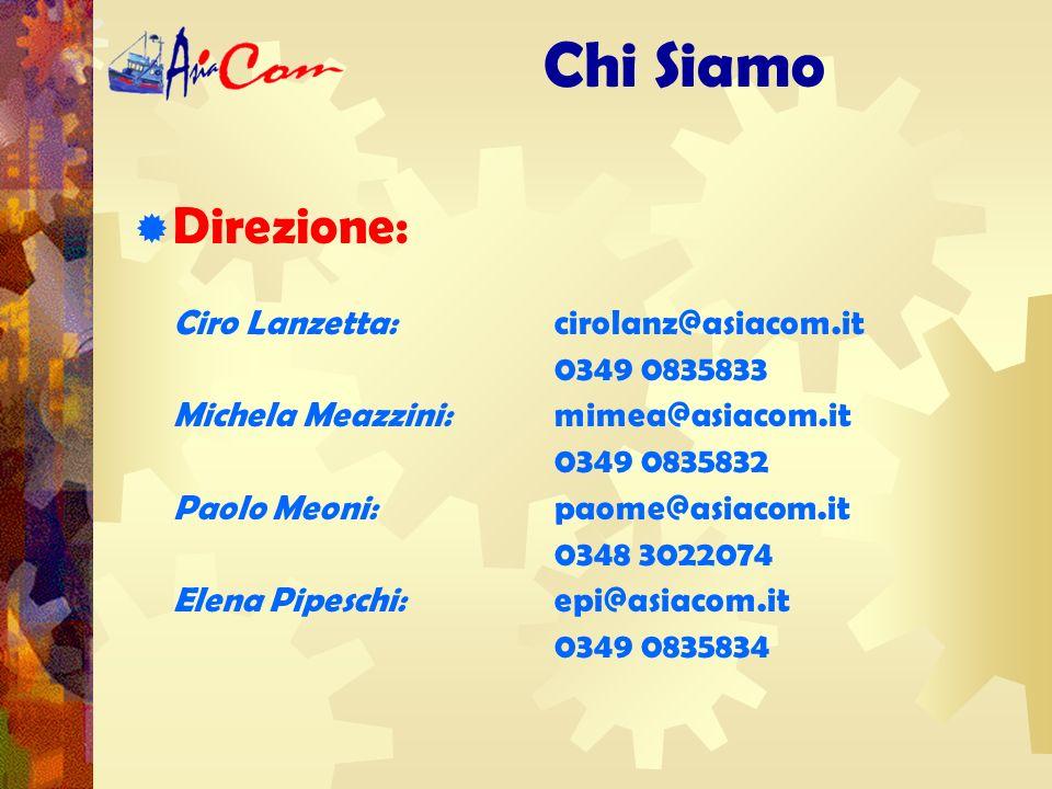 Uffici: Chi Siamo AsiaCom ha la sua sede legale ed un ufficio a Livorno.