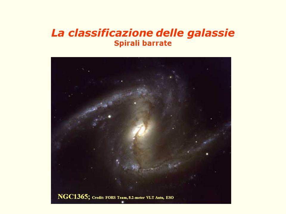 La classificazione delle galassie Spirali barrate NGC1365; Credit: FORS Team, 8.2-meter VLT Antu, ESO