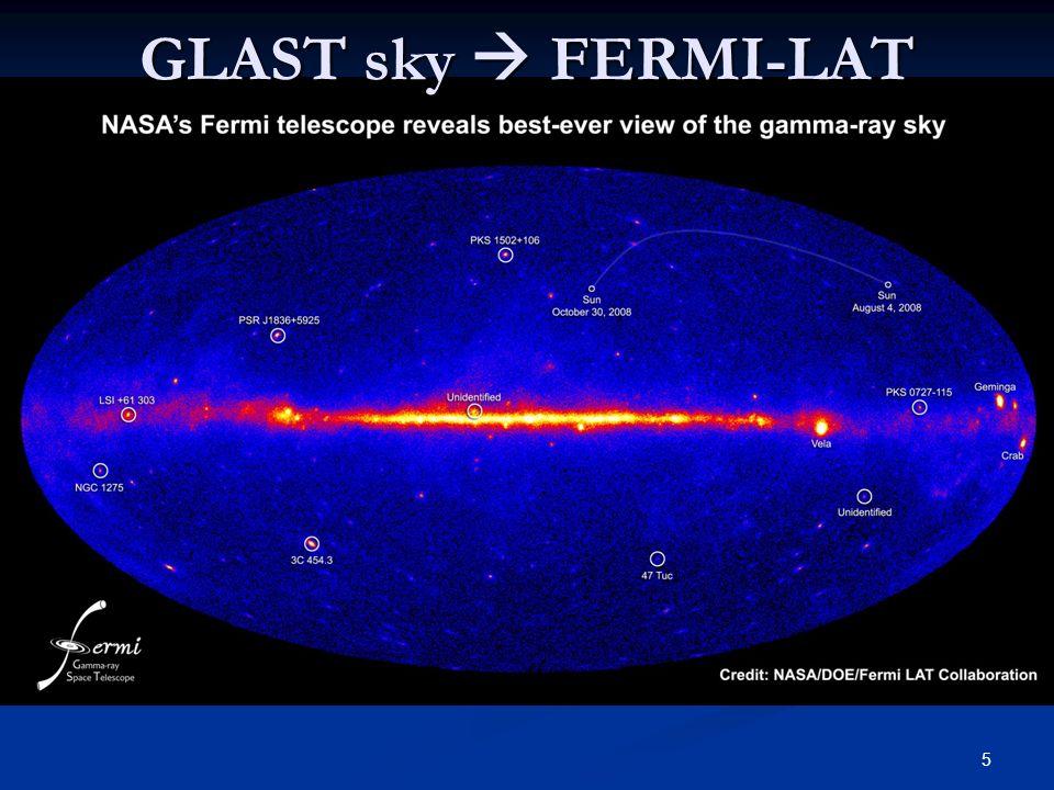 5 GLAST sky FERMI-LAT