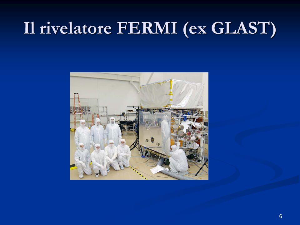 Il rivelatore FERMI (ex GLAST) 6