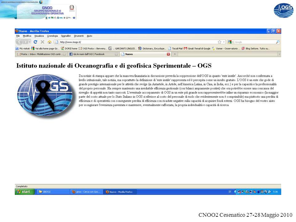 CNOO2 Cesenatico 27-28 Maggio 2010