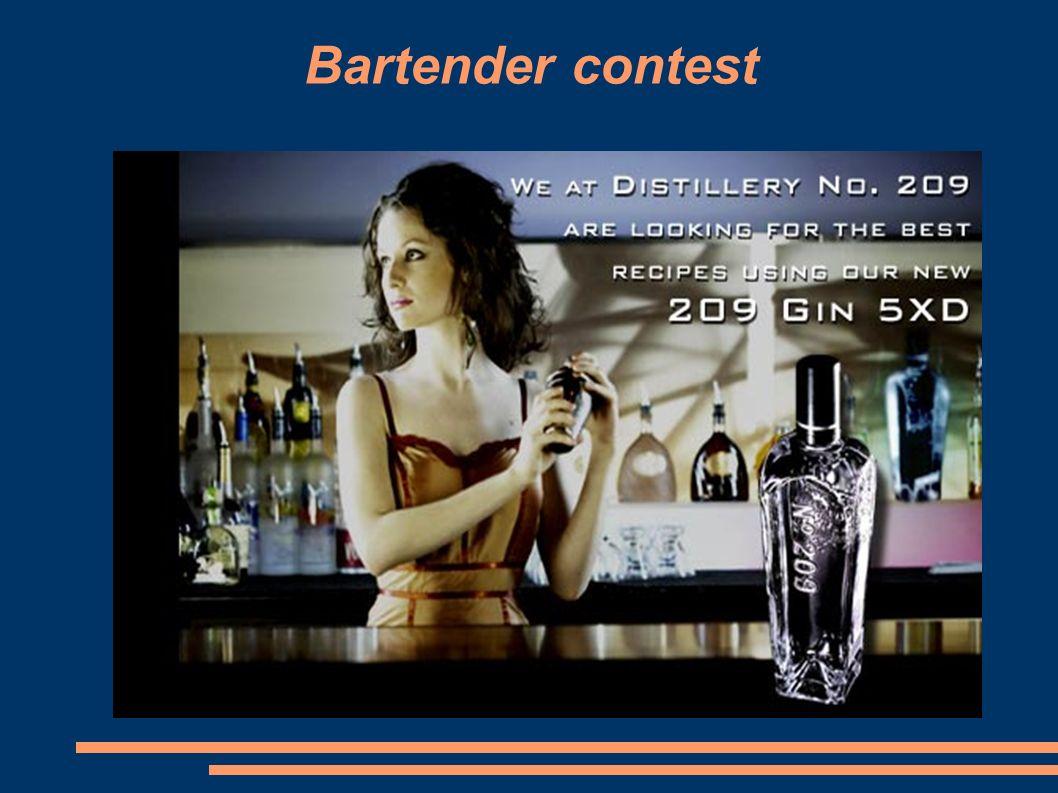Bartender contest