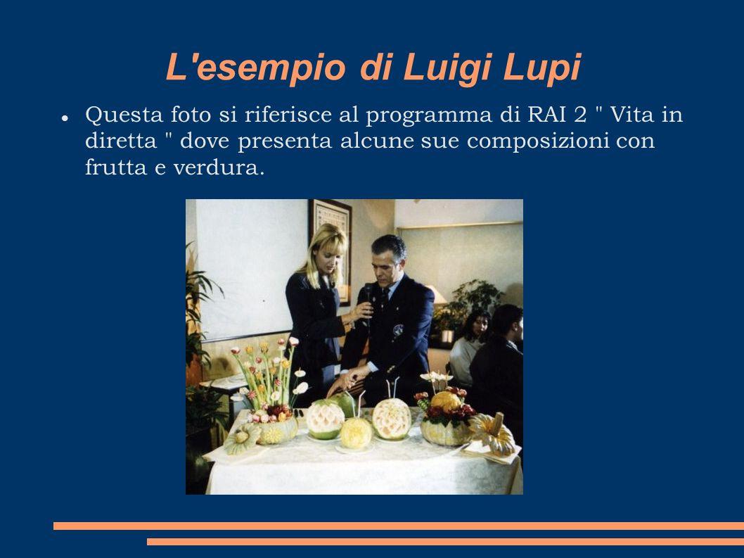 L'esempio di Luigi Lupi Questa foto si riferisce al programma di RAI 2