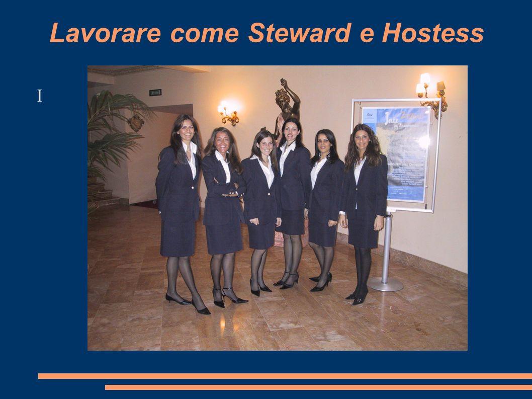 I Lavorare come Steward e Hostess