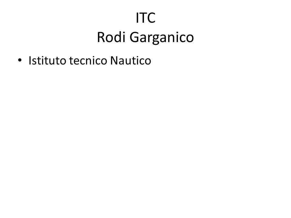 ITC Rodi Garganico Istituto tecnico Nautico