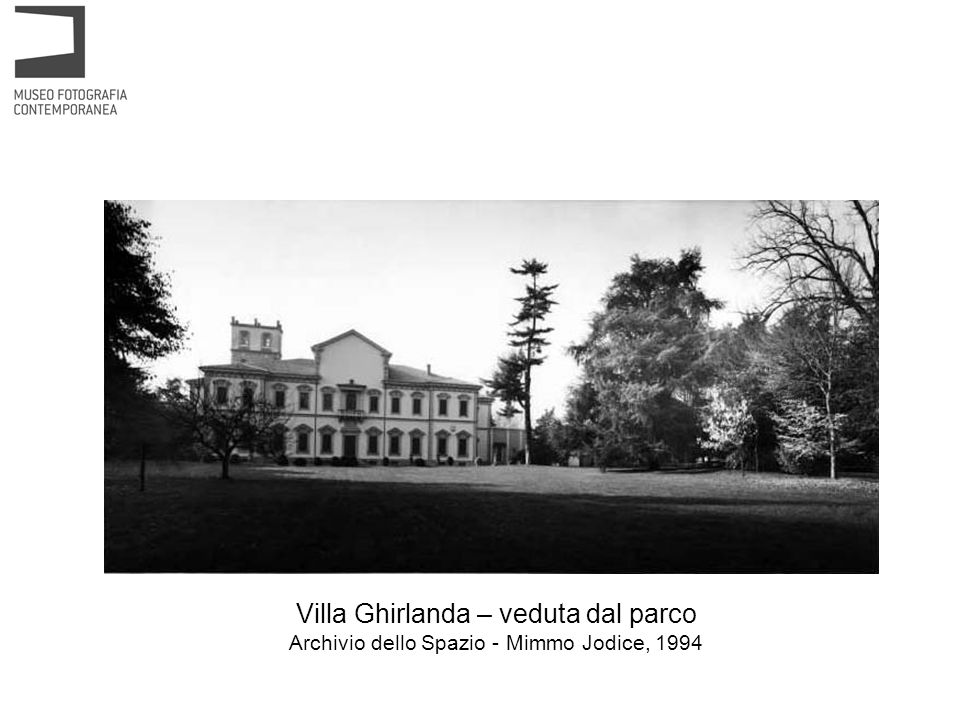 Villa Ghirlanda – portico dingresso Archivio dello Spazio - Mimmo Jodice, 1994