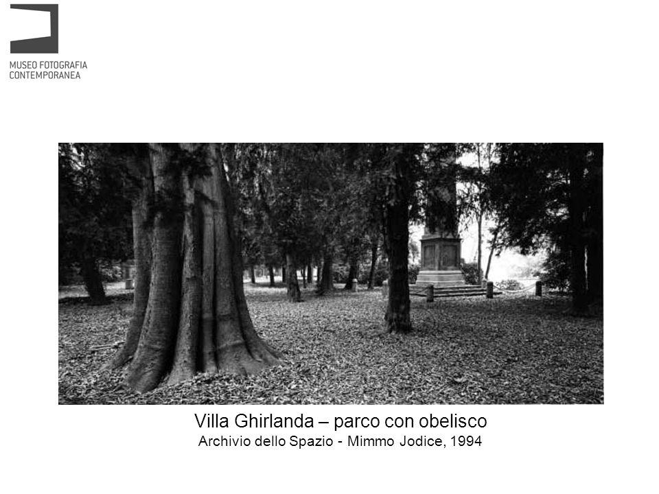 Villa Ghirlanda – parco Fondo Città di Cinisello Balsamo – Giovanni Chiaramonte, 1988