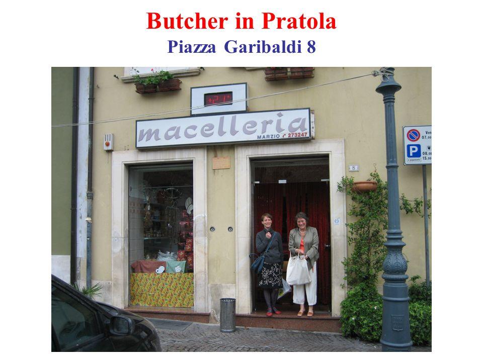 Butcher in Pratola Piazza Garibaldi 8