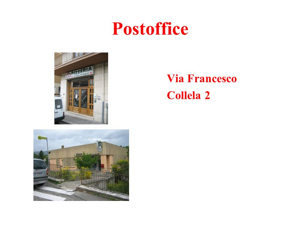 Postoffice Via Francesco Collela 2