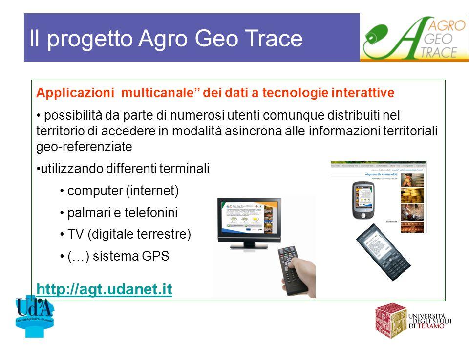 Applicazioni multicanale dei dati a tecnologie interattive possibilità da parte di numerosi utenti comunque distribuiti nel territorio di accedere in