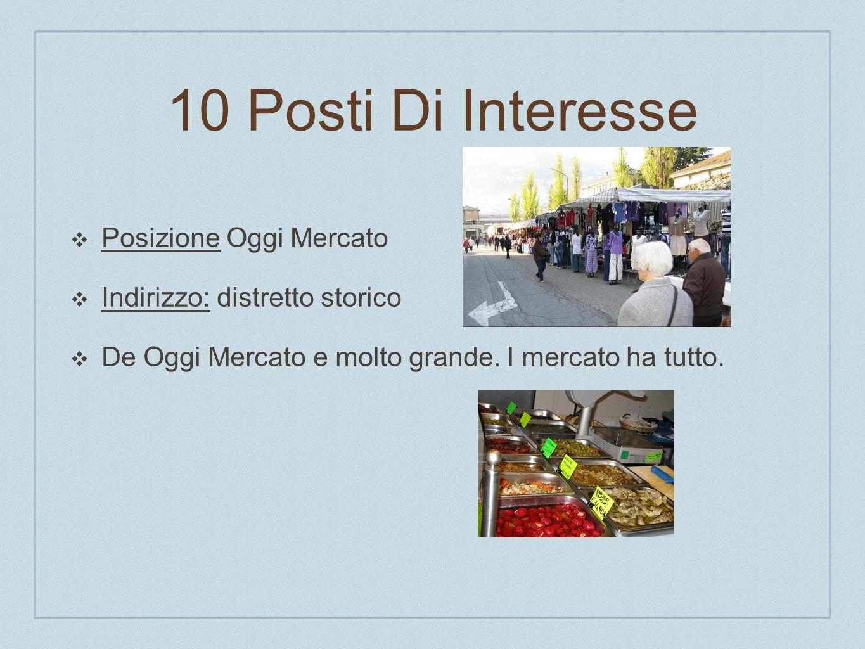 10 Posti Di Interesse Posizione Oggi Mercato Indirizzo: distretto storico De Oggi Mercato e molto grande. l mercato ha tutto.