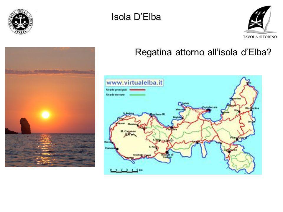 Regatina attorno allisola dElba?