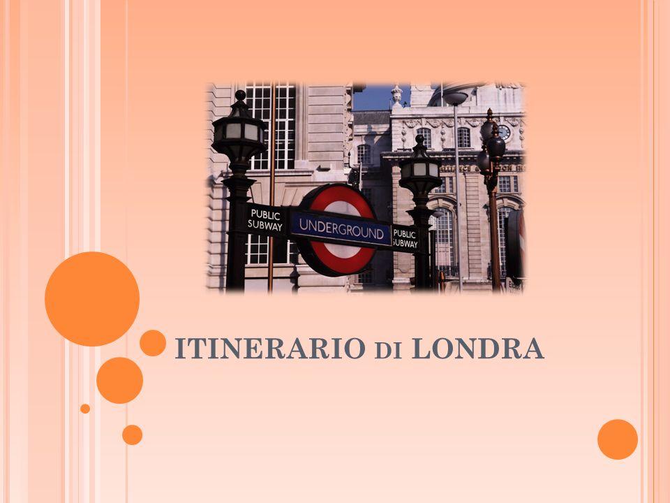 ITINERARIO DI LONDRA