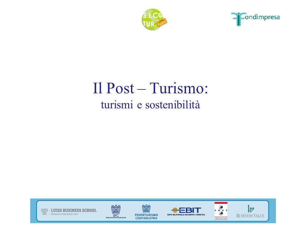 Il Post – Turismo: turismi e sostenibilità
